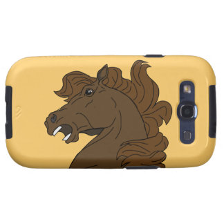 Abstract Mustang Horse Head Samsung Galaxy S Case Samsung Galaxy SIII Covers