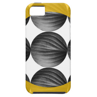 Abstract Mustard Yellow and Grey iPhone SE/5/5s Case