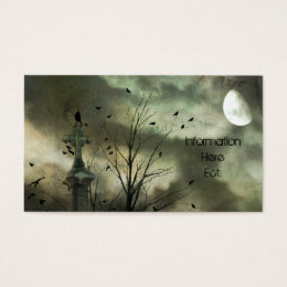 Abstract Nature Business Card
