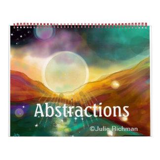 Abstract Nature Calendar