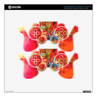 Abstract Nature Landscape creation PS3 Controller Skins