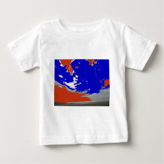 Abstract nature photo sky beach ocean baby T-Shirt