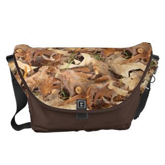 Abstract Nature Photography Autumn Leaves Camo Courier Bag