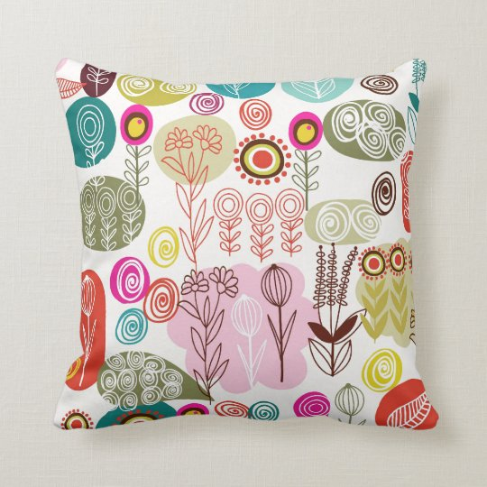 Abstract Nature Pillow