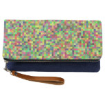 Abstract Nature Pixelated Clutch