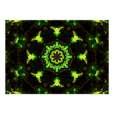 Abstract Nature Poster