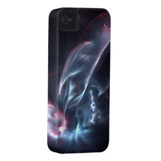 Abstract Nebula Blue and Purple iPhone 4 Case-Mate Case