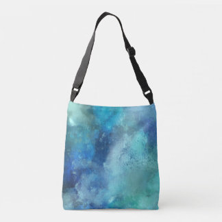 Abstract Nebula Crossbody Bag