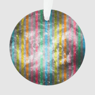 Abstract Nebula MultiColors Stripes Pattern