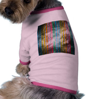 Abstract Nebula MultiColors Stripes Pattern Dog Clothes