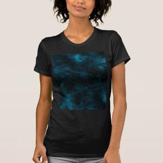 Abstract Nebula Texture - Blue T-Shirt