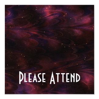 Abstract Nebula Texture - Pink Card