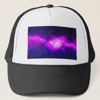 Abstract Nebulla with Galactic Cosmic Cloud 28a.jp Trucker Hat