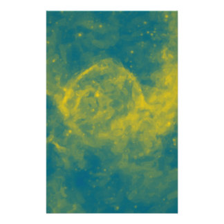 Abstract Nebulla with Galactic Cosmic Cloud 29a.jp Stationery