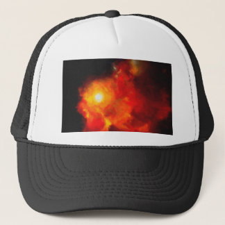 Abstract Nebulla with Galactic Cosmic Cloud 30 Trucker Hat