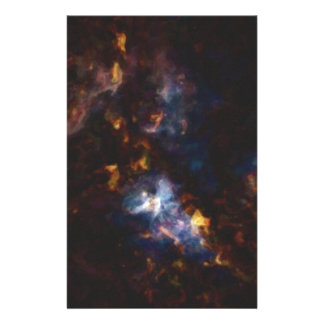 Abstract Nebulla with Galactic Cosmic Cloud 34 Stationery