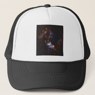 Abstract Nebulla with Galactic Cosmic Cloud 34 xl. Trucker Hat