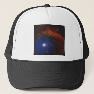 Abstract Nebulla with Galactic Cosmic Cloud 40 Trucker Hat