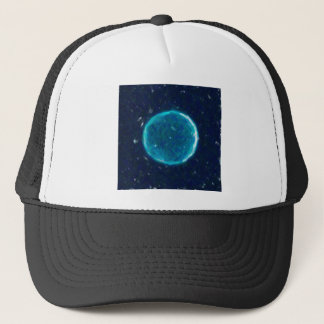 Abstract Nebulla with Galactic Cosmic Cloud 41 Cir Trucker Hat
