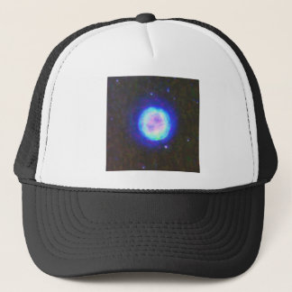 Abstract Nebulla with Galactic Cosmic Cloud 42 Sph Trucker Hat