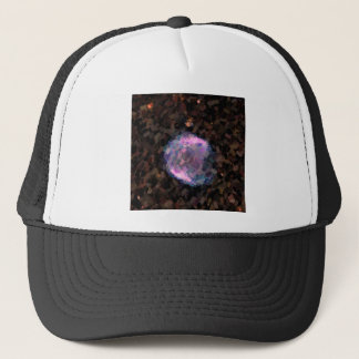 Abstract Nebulla with Galactic Cosmic Cloud 43 Sph Trucker Hat