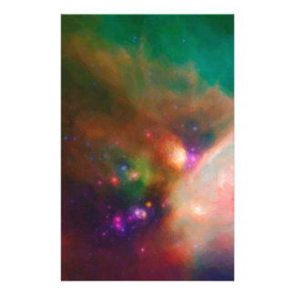 Abstract Nebulla with Galactic Cosmic Cloud 44 med Stationery