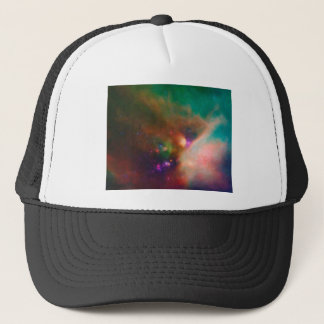 Abstract Nebulla with Galactic Cosmic Cloud 44 med Trucker Hat