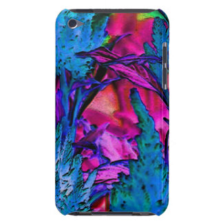Abstract Neon Flowers Design iPod Touch Case iPod Touch Cases