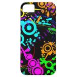 Abstract Neon Splatter Modern Iphone 5/5S Case