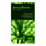 abstract nerves Double-Sided standard business cards (Pack of 100)