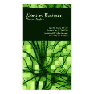 abstract nerves business card