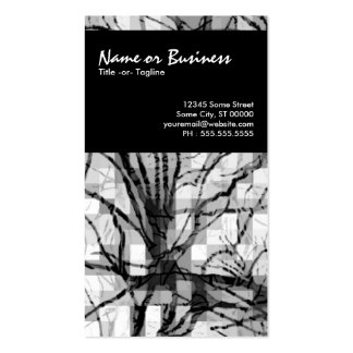 abstract nerves business cards