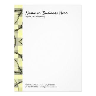 abstract nerves letterhead