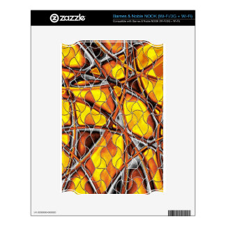abstract net skin for the NOOK