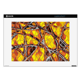 """abstract net decals for 15"""" laptops"""