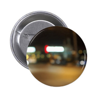 Abstract night scene on the night the traffic 2 inch round button