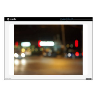 """Abstract night scene on the night the traffic decals for 17"""" laptops"""