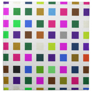 Abstract Noisy Color Palette Cloth Napkin