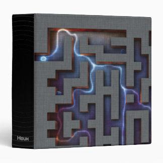 Abstract Notebook - Eerie Binder