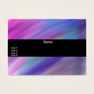 Abstract number 12 business card