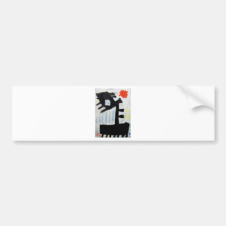 Abstract o-11 by Piliero Bumper Sticker