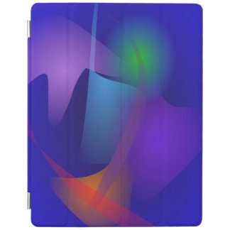 Abstract Objects in the Blue Room iPad Cover