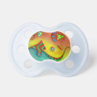 Abstract Ocean Colorful Art Pacifier