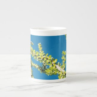Abstract Ocotillo on Blue Sky Mug