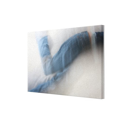 Abstract of Child Dancing Canvas Prints