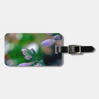 ABSTRACT OF FLORAL BUDS TAGS FOR LUGGAGE