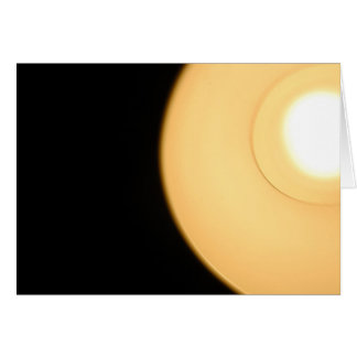 ABSTRACT OF LIGHT STATIONERY NOTE CARD