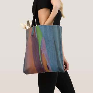 Abstract Of Rainbow Gum Tree Tote Bag