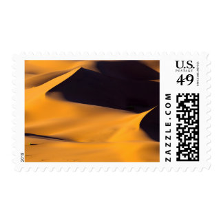 Abstract of sand dune postage