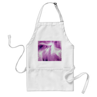 Abstract Of The Iris Adult Apron